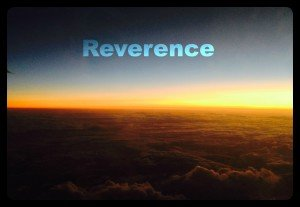 Reverence and sunset